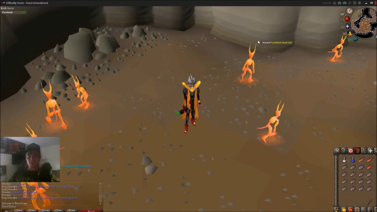 Osrs Slayer Guide Pyrefiends Youtube Pyrefiends can be found in the god wars dungeon. osrs slayer guide pyrefiends