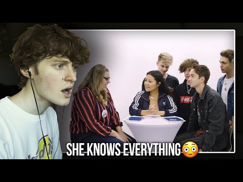 SHE KNOWS EVERYTHING! (Why Don't We Goes Head To Head With Their Biggest Fan | Reaction/Review)