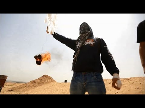 Fiery kites adopted as new tactic by Gaza protesters