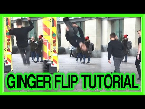 How to Ginger Flip for Parkour, Free Running, etc | GNT Tutorial