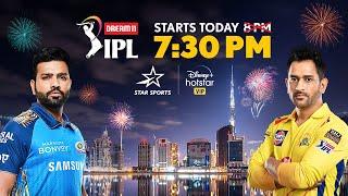 Dream11 IPL 2020   MI v CSK   Today at 7:30 PM!