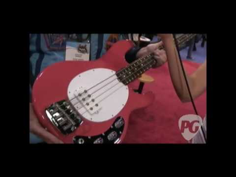 NAMM '10 - Ernie Ball Music Man Classic Collection StingRay Bass