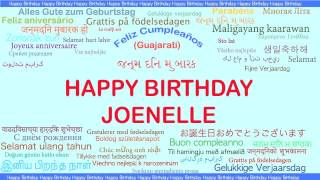 Joenelle   Languages Idiomas - Happy Birthday