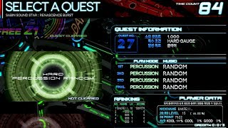 [Sabin Sound Star : RB] Extra Quest - No. 27 ~Hard Percussion Random~