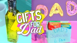 Gambar cover Last Minute DIY Gift Ideas For Dad! Easy & Affordable! // Jill Cimorelli