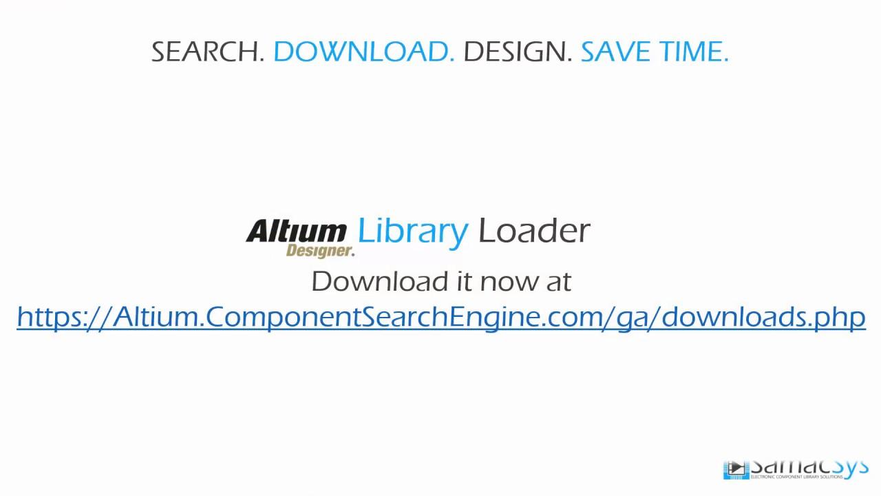 Altium Library Loader