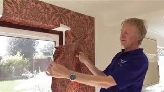 How to Hang Wallpaper Around Windows and Doors the Professional Way