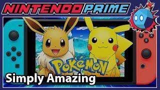 Pokemon: Let's Go Pikachu / Eevee is Amazing - Hands on Impressions