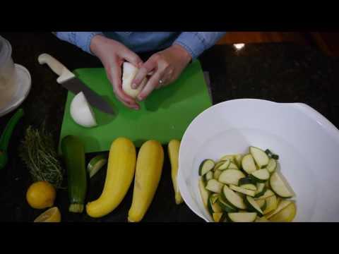 Grilled Squash & Zucchini