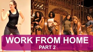 Fifth Harmony 'WORK FROM HOME' (PART 2) Dance Tutorial | andreakswilson