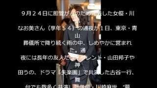"""松嶋菜々子沈痛 """"恩人""""川島なお美さんと別れ 9月24日に胆管がんのた..."""