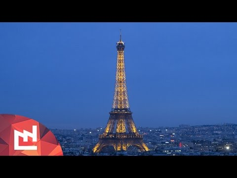 DIY Project: Periscope view of the Eiffel Tower
