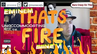 EMINEM feat. Young M.A - Unaccommodating REACTION