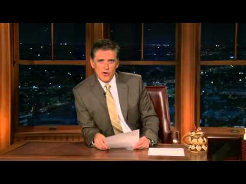 Late Late Show with Craig Ferguson 10/15/2009 Forest Whitaker, The Mythbusters