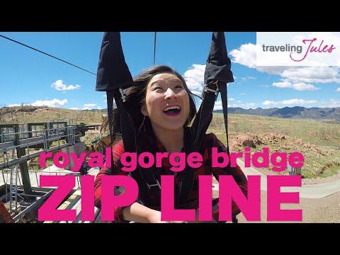 CANON CITY: Royal Gorge Bridge Cloudscraper Zip Line