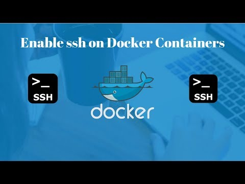 How To Configure Ssh In A Docker Container