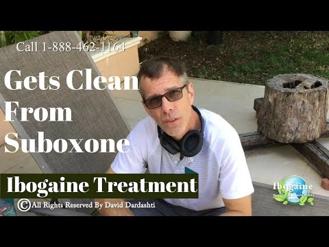 Sales Guy Gets Clean from Suboxone with Ibogaine Treatment | Suboxone Success Story