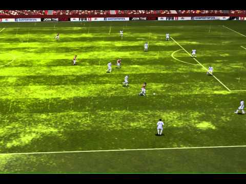 FIFA 13 - Theo Walcott vs. Spurs - Worlds worst keeper