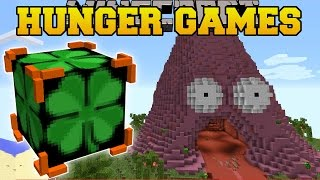 Minecraft: PATRICK VOLCANO HUNGER GAMES - Lucky Block Mod - Modded Mini-Game
