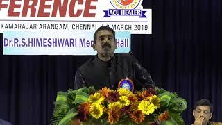 Acu Healer.P.M.Umar farook @ Acu Healer conference