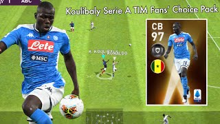 Review Featured Player CB 97 Rating KOULIBALY - Pes 2020 Mobile