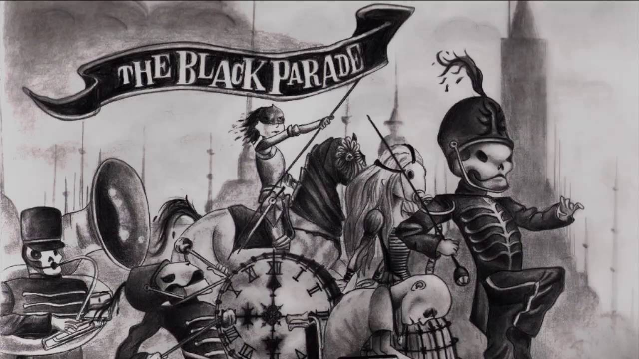 Image result for the black parade album art