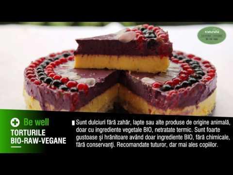 Torturi Bio- Raw Vegane - Casa Naturalia