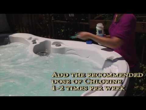 D1 Spa (hot Tub) Water Care Guide