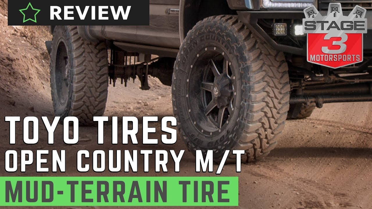 Tire Review Toyo Open Country M T Radial Tire Youtube