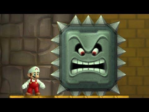 Newer Super Mario Bros Wii Walkthrough - Part 2 - Rubble Ruins
