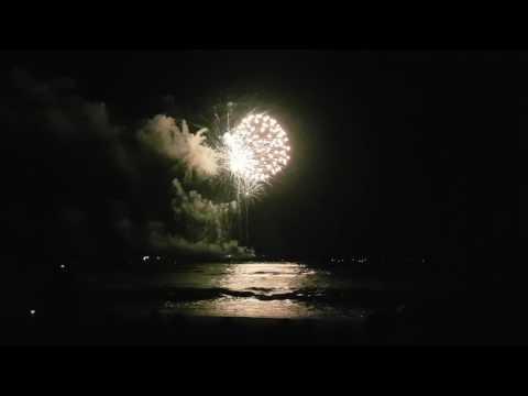 Ocean Beach fireworks Fourth of July San Diego 2017