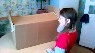 Как сделать. Домик для кукол. 1 ЧАСТЬ(Я в вконтакте - http://vk.com/id261041009 Моя группа вконтакте - http://vk.com/club90244959., 2015-01-24T08:57:20.000Z)