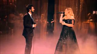 Download Video Josh Groban Kelly Clarkson  All i ask phantom of the opera MP3 3GP MP4
