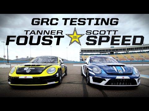 GRC Testing w/ Tanner Foust & Scott Speed