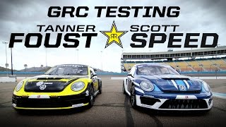 GRC Testing w/ Tanner Foust & Scott Speed