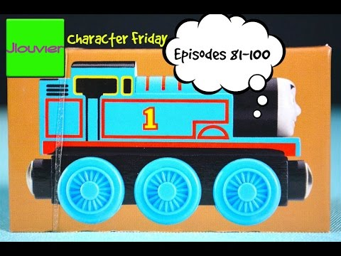 Thomas & Friends: CHARACTER FRIDAY (Episodes 81-100) Wooden Railway Train Review
