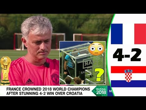 [FRANCE VS CROATIA 4-2] JOSÉ MOURINHO CRITICISES WORLD CUP FINAL REFEREE!