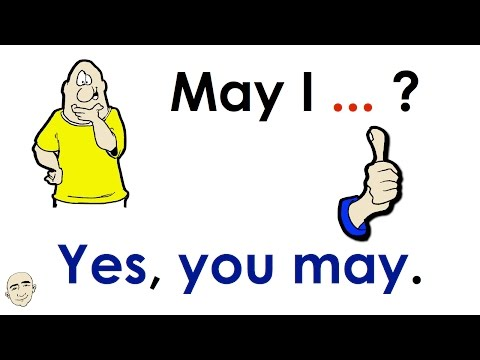 Asking For Permission | May I...? | Easy English Conversation Practice | ESL