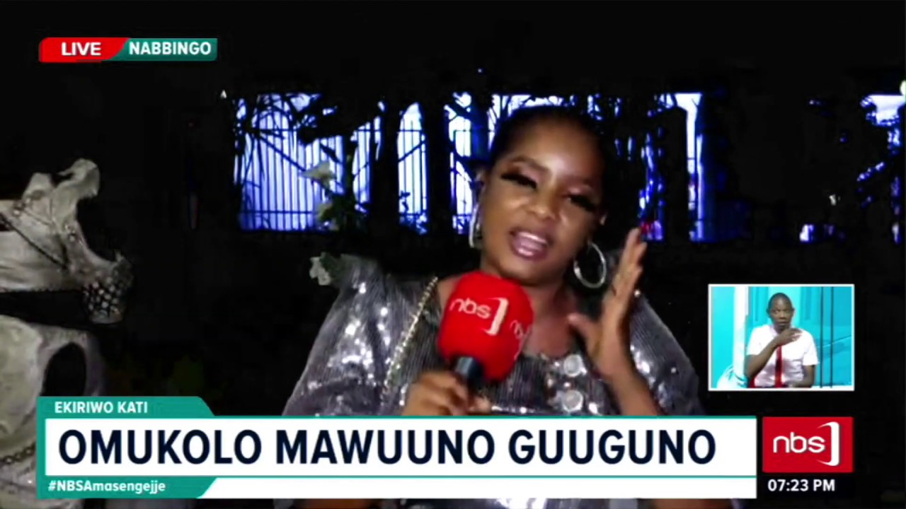 Rema Namakula Akoze Ekyafaayo| NBS Amasengejje 14th Nov 2019