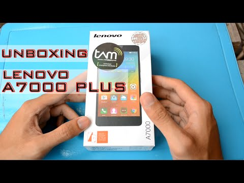 Unboxing Lenovo A7000 PLUS Indonesia (Juragan Tekno)