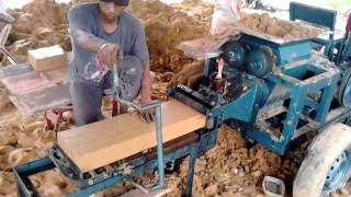 Mesin cetak bata(borneo TEKNIK samarinda)