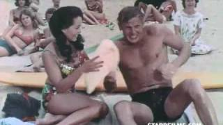 RIDE THE WILD SURF 1964 Movie Trailer