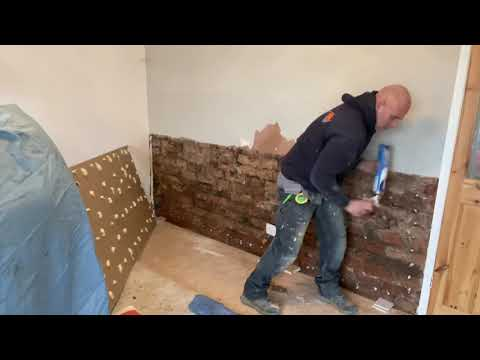 How to Dampproof a small wall like a boss