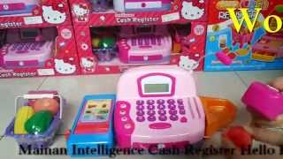Mainan Mesin Cashier Karakter Hello Kitty Intelligence Cash Register