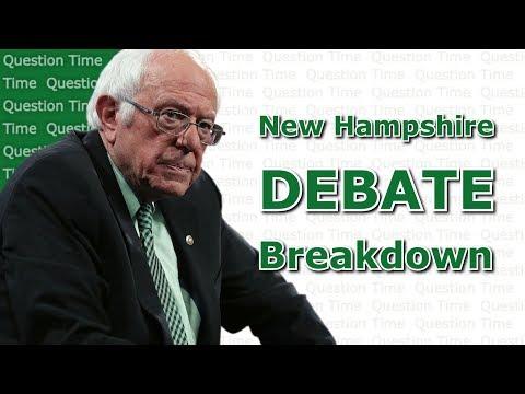 New Hampshire Debate Breakdown | 8th Democratic Debate | QT Politics
