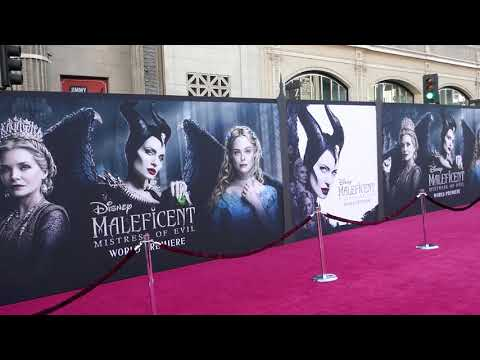 Disney Maleficent Mistress Of Evil World Premiere September 30 2019 Hollywood California Usa