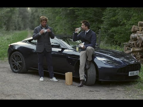 Paris-Francfort en Aston Martin | GQ & Hackett