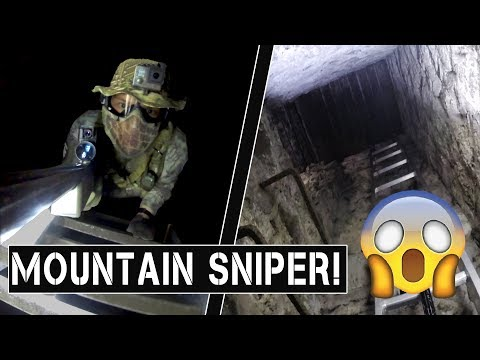 Airsoft Mountain Sniper DESTROYS Entire Team