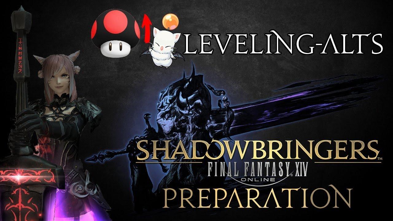 FFXIV - Shadowbringers - Leveling Alt-jobs (Level 1 - 70)
