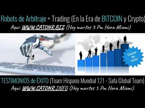 Robot de trading crypto